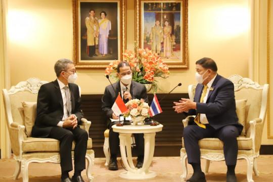 Bertemu Gubernur Bangkok, Dubes RI bahas kerja sama kota kembar