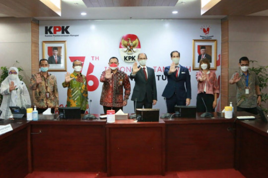 Pimpinan KPK dan Dubes Swiss bahas tantangan pemberantasan korupsi
