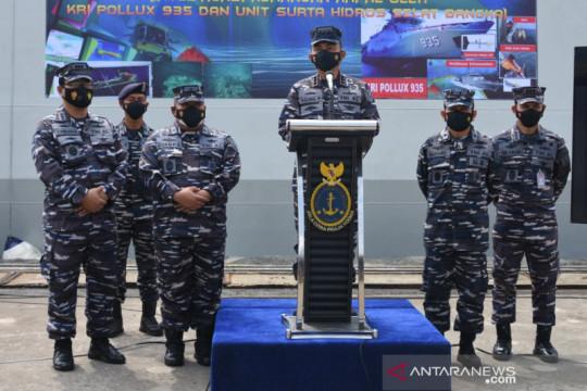 Pushidros TNI AL temukan bahaya pelayaran di Selat Bangka
