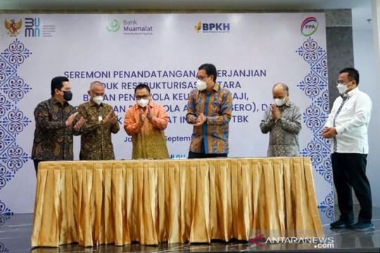 Erick Thohir apresiasi kerjasama PT PPA dengan BPKH dan Bank Muamalat