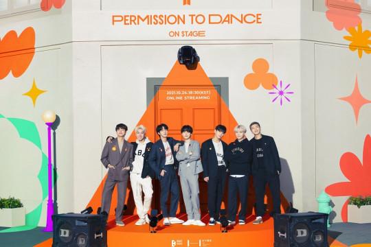 "BTS umumkan konser daring ""Permission To Dance On Stage"""