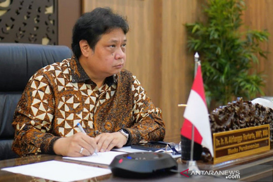 Menko Airlangga: Dampak PPKM terhadap perekonomian hanya sementara