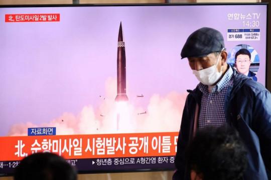 "PM Jepang sebut uji coba rudal Korut ""keterlaluan"""