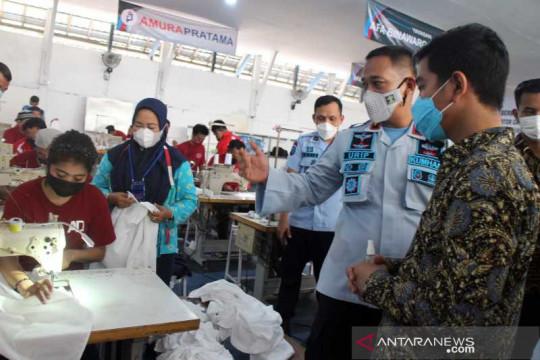 Gibran apresiasi warga binaan Rutan Surakarta dibina produktif