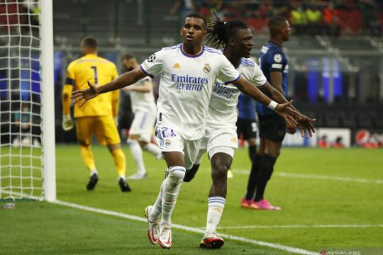 Gol larut Rodrygo Goes menangkan Real Madrid atas Inter Milan