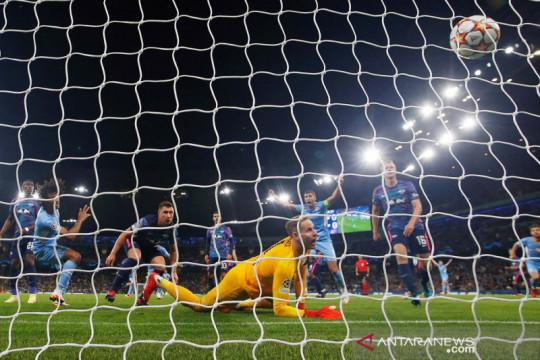 Liga Champions: Banjir gol, Manchester City kalahkan RB Leipzig 6-3