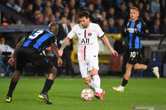 Skuat bertabur bintang PSG cuma petik hasil imbang di kandang Brugge