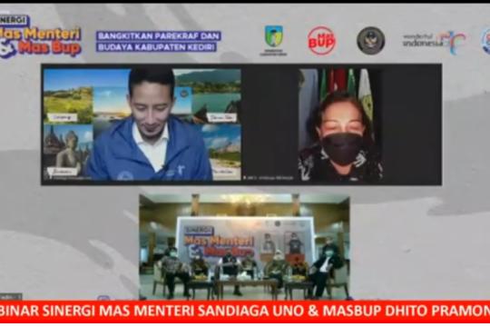 Menteri Sandiaga dorong PHRI manfaatkan program PEN pariwisata
