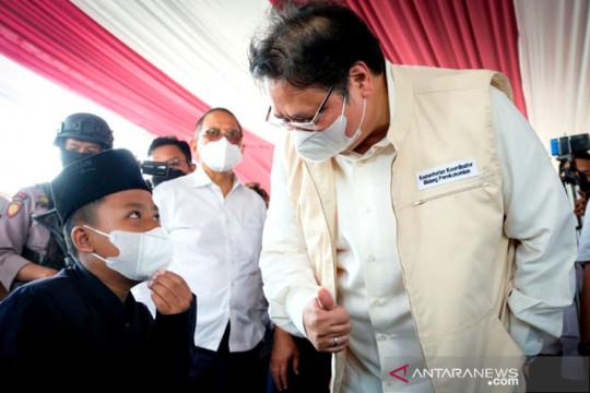 Airlangga Hartarto: Penanganan COVID-19 Indonesia diakui lebih baik