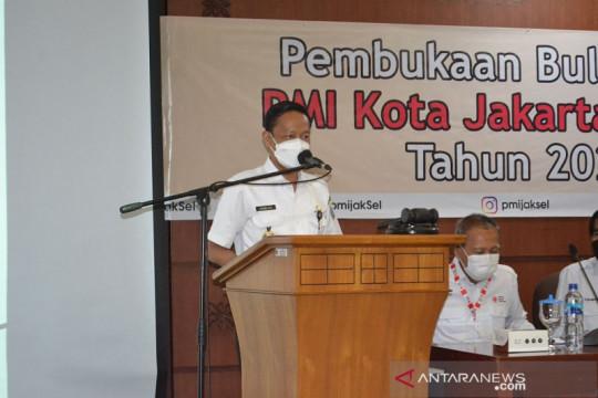 Masyarakat di Jakarta Selatan diajak dukung bulan dana PMI