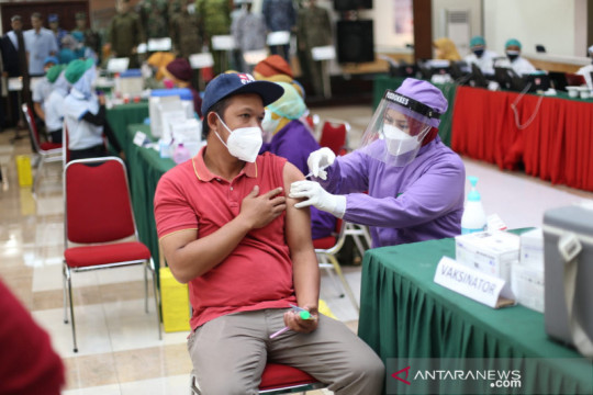 PT Sritex kerja sama dengan TNI-Polri percepat vaksinasi di Solo Raya