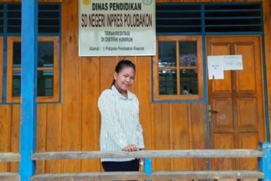 Jenazah Gabriela belum berhasil dievakuasi dari jurang di Kiwirok