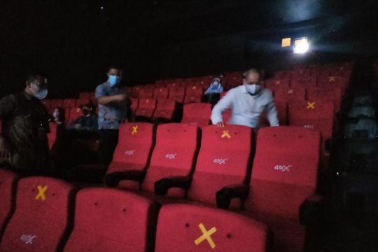 Pengunjung bioskop di Jakbar tidak harus telah divaksin dua kali