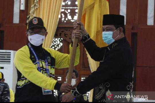Gubernur Kalsel secara resmi lepas 111 atlet ke PON Papua