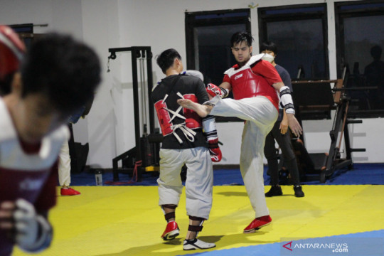 Dinggo yakin jadi taekwondoin terbaik di kelas 68 kg pada PON Papua
