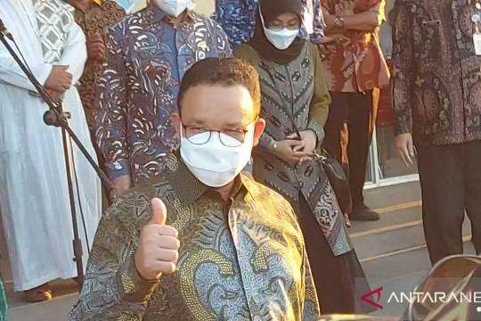 Anies resmikan GOR Rorotan dengan nama GOR Sekda Saefullah