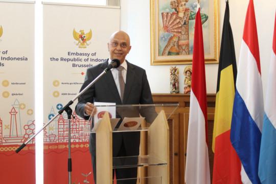 Dua duta besar RI resmikan Asosiasi Benelux-Indonesia