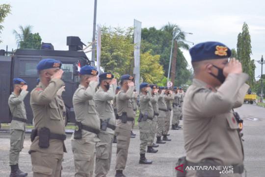 101 personel Brimob Gorontalo bantu pengamanan PON Papua