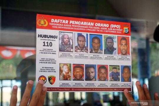 2 SSK Brimob Bantu Pengejaran DPO KNPB di Maybrat