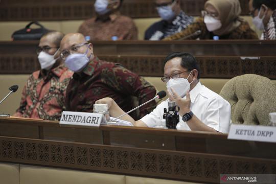 Komisi II DPR setujui pagu anggaran Kemendagri 2022 Rp3,03 triliun