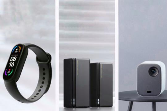 Xiaomi luncurkan proyektor, router, dan Mi Smart Band 6 NFC