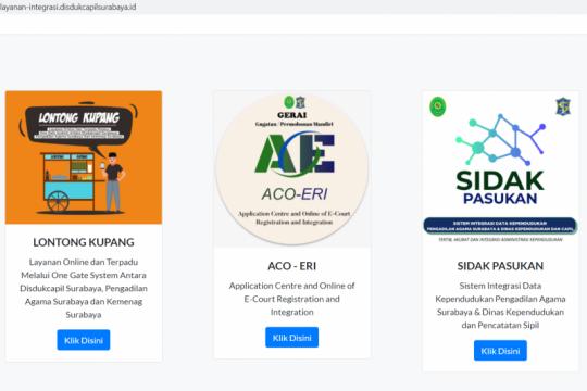 Tiga aplikasi baru mudahkan pelayanan seputar pernikahan di Surabaya