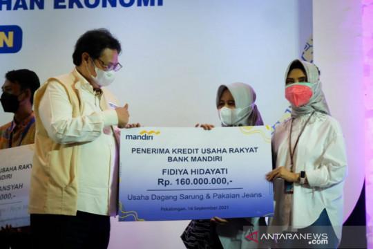 Bantu UMKM bertahan saat pandemi, pemerintah maksimalkan KUR