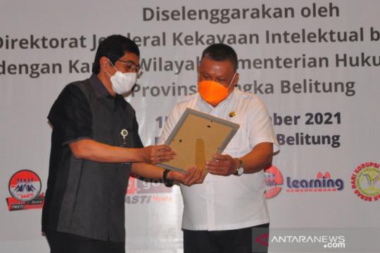 13 kekayaan intelektual Belitung Timur dapat pengakuan