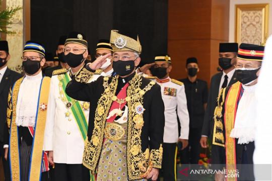 Raja Malaysia melawat ke Inggris