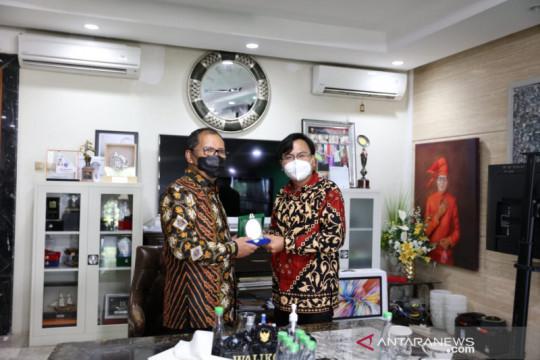 Dewas BPJS Kesehatan-Wali kota Makassar bahas sinkronisasi ribuan NIK