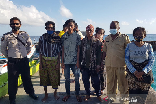 Satu nelayan hilang di Sabu Raijua-NTT ditemukan di Pulau Sumba