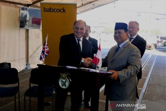 Indonesia, Inggris kerja sama bangun kapal perang fregat