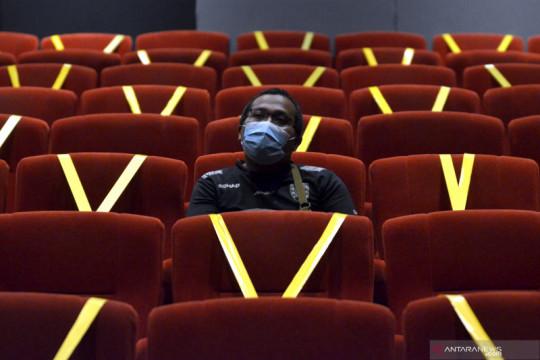 Warga Jakarta kategori kuning di PeduliLindungi boleh kunjungi bioskop