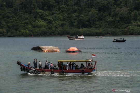 Kapal Pengayoman IV tenggelam di perairan Cilacap-Nusakambangan