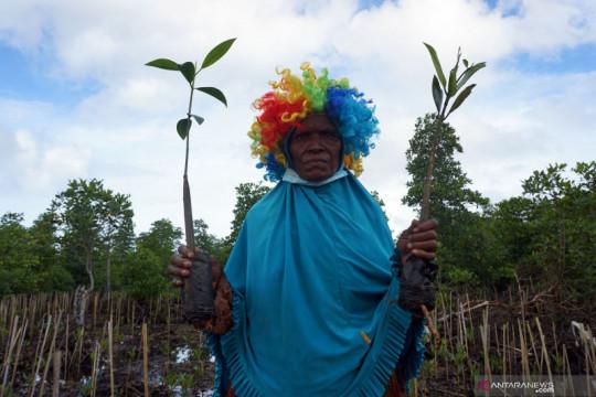 Restorasi hutan mangrove di Papua Barat