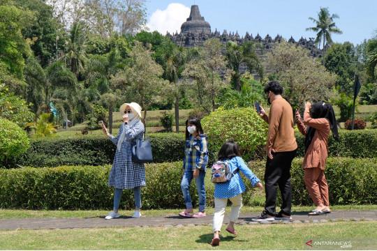 Candi Borobudur masih ditutup untuk kunjungan wisata