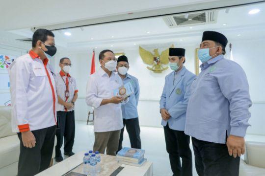 Prestasi Indonesia di Tokyo jadi topik pertemuan Menpora-BKPRMI