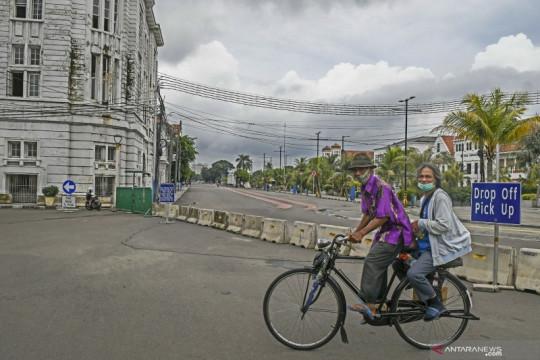 Kawasan wisata Kota Tua belum buka untuk umum