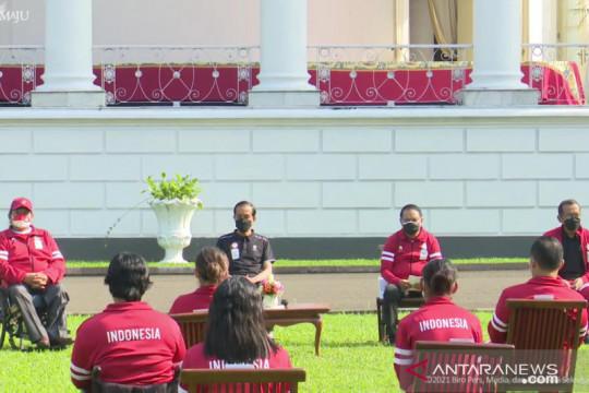 Presiden Jokowi berikan bonus bagi atlet Paralimpiade Tokyo 2020