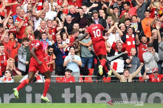 Liverpool terkam Crystal Palace dibantu rekor unik Sadio Mane