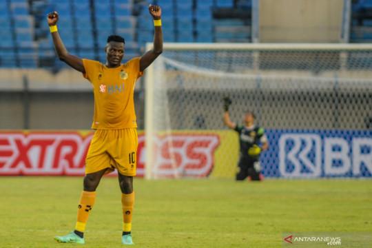 Gol Ezechiel bawa Bhayangkara unggul 1-0 atas Madura United