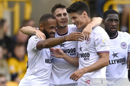 Liga Inggris:Brentford  kalahkan Wolverhampton  2-0