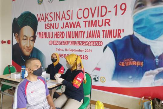 ISNU Jatim kerahkan nakes vaksinasi COVID-19 massal di UIN Tulungagung