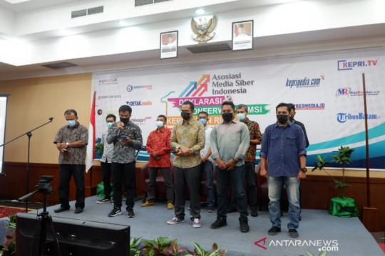 Asosiasi Media Siber Indonesia (AMSI) wilayah Kepri resmi terbentuk