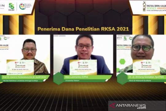 Tiga penelitian dapat dana Rp1,5 miliar di RKSA 2021