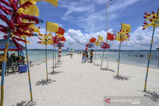 Wisata Pulau Mudud Batam mulai ramai