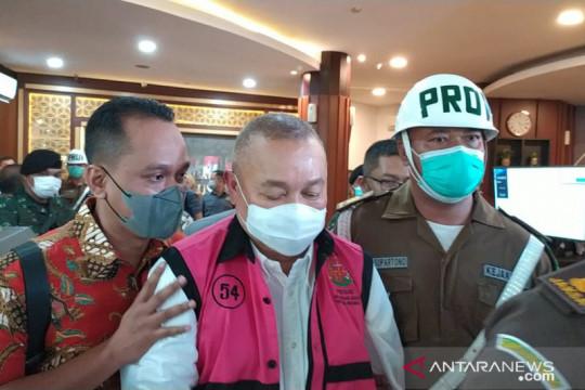 Alex Noerdin ditetapkan tersangka korupsi dana hibah Masjid Sriwijaya