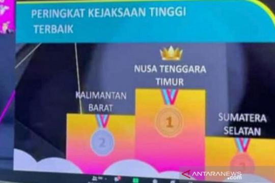 Kejati Sumsel meraih peringkat tiga nasional pengungkapan tipikor