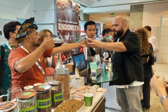 Indonesia raih pembelian 600 ton biji kopi lewat pameran di Turki