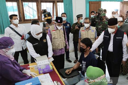 Gubernur Jatim dorong percepatan vaksinasi di Kabupaten Malang